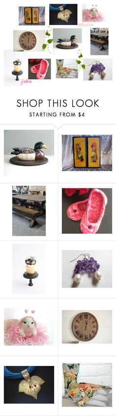 """""""Unique Gifts for Everyone on Etsy"""" by afloralaffair-1 ❤ liked on Polyvore featuring interior, interiors, interior design, home, home decor, interior decorating, Masquerade, rustic, vintage and country"""