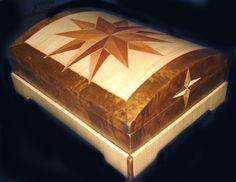 caixa marchetaria  marquetry box
