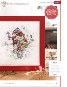 Snow Much Fun (Country Companions) From The World Of Cross Stitching 2014 2 of 4 Hedgehog Cross Stitch, Cute Cross Stitch, Cross Stitch Designs, 12 Days Of Christmas, Christmas Cross, Xmas, Fizzy Moon, Snow Much Fun, Cross Stitch Pictures