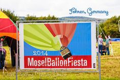 Mosel Ballon Fiesta 2014 in Fohren, Germany. It's about 21 minutes Spangdahlem, about 1 hour from Ramstein.