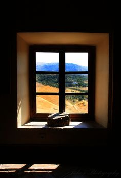 view from inside a small museum for historical development of Ronda Ronda-Spain i uploaded two today because i didn't upload any last night Window View, Open Window, Portal, Ronda Spain, Looking Out The Window, Through The Window, Wabi Sabi, Doorway, Belle Photo