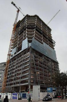 LinkedIn Asset Management, Louvre, Sign, Building, Buildings, Signs, Board, Construction