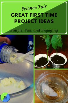 Try these great ideas for the science fair. This is a collection of unique, easy, and creative ideas for middle or elem Science Fair Experiments, Cool Science Fair Projects, Science Projects For Preschoolers, Science For Kids, Elementary Science, Chemistry Projects, Material Science, First Time, Judges
