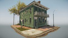 ArtStation - house, Wesley Mackinder