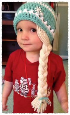 Excellent Free of Charge Crochet Hat character Thoughts It can be National Stitching thirty days throughout September. Just simply because it is regular sew Crochet For Kids, Diy Crochet, Crochet Crafts, Crochet Baby, Crochet Projects, Frozen Crochet Hat, Crochet Amigurumi, Crochet Beanie, Knitted Hats