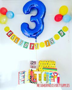 One of my fav pictures of a banner I made for my sons 3rd birthday #Lego #handmade #uniquepartygifts #redblueyelow #everythingisawsome www.fb.com/metamorphosistea
