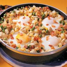 chicken and egg hash...