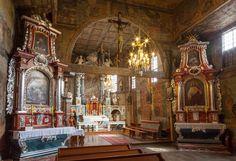 Blizne. Drewniany kościół z XV/XVI w. / Blizne. Wooden Roman Catholic Church from 15th/16th century.   #Podkarpackie #Poland #UNESCO #WorldHeritageList