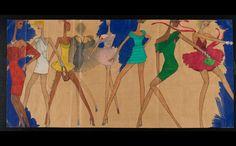 The pioneering African-American designer, Stephen Burrows wants to make a comeback, and a show at the Museum of the City of New York may help. African American Clothing, American Apparel, New York Illustration, New York City Guide, Black Fashion Designers, Nature Crafts, Museum, Painting, July 28