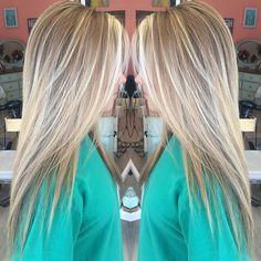 Blondie blonde.  #hairbykorianbradley #blonde #balayage