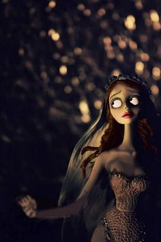 Emily from 'The Corpse Bride'.loveeeee this pic! F I L M,Nightmare Before Christmas,this is Halloween,Tim Burton,