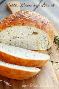 Rustic Rosemary Bread on MyRecipeMagic.com