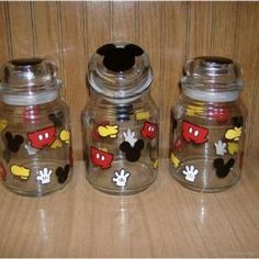 Mickey Canisters Mickey Mouse Kitchen Disney Kitchen Decor