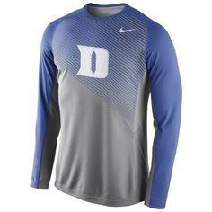 Duke Blue Devils Nike Fearless Shootaround Long Sleeve T-Shirt –