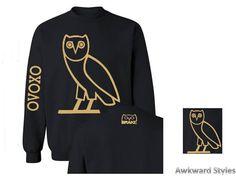 Unisex OVO Drake CREWNECK gold owl ovoxo Octobers very own weekend sweatshirt hoodie  s-5xl adult unisex ,4 colors perfect gift