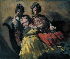 Two Women on a Sofa - Le Tose