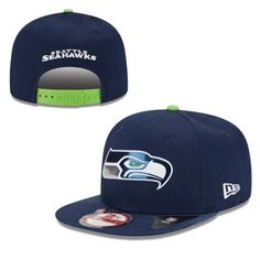 Men s New Era College Navy Seattle Seahawks 2015 NFL Draft Original Fit  9FIFTY Adjustable Hat Seattle 2b20071b3