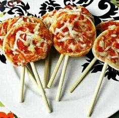Pizza-on-a-stick  lol I'd do porkchop-on-a-stick too. lol