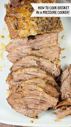 Lower Excess Fat Rooster Recipes That Basically Prime Learn How To Cook Brisket In The Pressure Cooker. This Easy Brisket Recipe Is Deliciously Flavorful, Tender And Ready In About An Hour And 20 Minutes Pressure Cooker Brisket, Power Pressure Cooker, Instant Pot Pressure Cooker, Slow Cooker, Pressure King, Pressure Pot, Pressure Canning, Power Cooker Recipes, Pressure Cooking Recipes