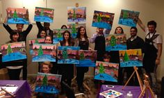 Check out the photos from our Paint London Christmas event at The Trafalgar on Tuesday!