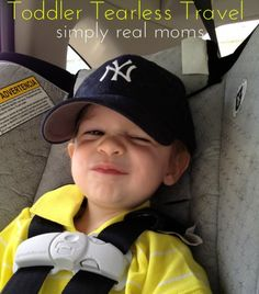 Toddler Tearless Travel: Great ideas from a mom who does a lot of traveling with her little one by car!  Via @Simply Real Moms