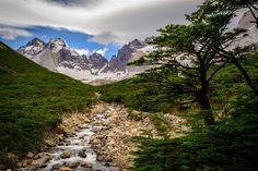 Valle del Francés, Parque Nacional Torres del Paine -CHILE