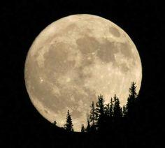 Full moon on June 13, 2014