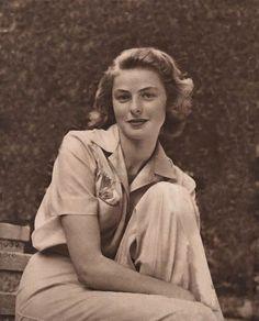 Ingrid Bergman...love her in Notorious