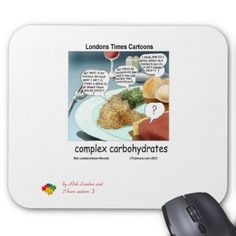 #Autism Series #ComplexCarbohydrates #funny #mousepad 40%off @zazzle by @LTCartoons Code BUSYBUSINESS #humor #philosophy #ASD #benefit #computers #tech #sale #gift