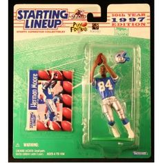 HERMAN MOORE / DETROIT LIONS 1997 NFL Starting Lineup Action Figure & Exclusive NFL Collector Trading Card (Toy)  http://budconvention.com/zone1.php?p=B00570JC0W  #newyork