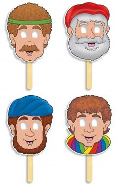 Joseph and the Coat of Many Colors! Bible Character Masks