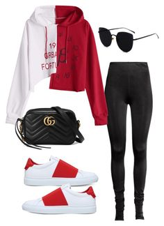 """""""Untitled #5725"""" by lilaclynn ❤ liked on Polyvore featuring Givenchy, Gucci and gucci"""