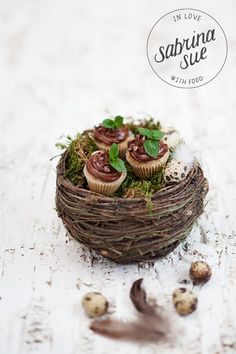 hazelnut chocOlate cupcakes (gf)