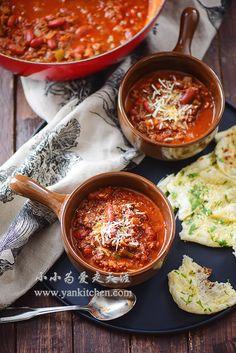 SPICY VENISON CHILI Venison Recipes, Spicy Recipes, Soup Recipes, Cooking Recipes, Delicious Recipes, Venison Marinade, Venison Chili, Wild Game Recipes, Macaroni Cheese