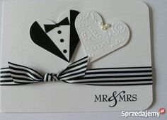 Wedding card from Creating A Great Hand Made Card Simple Tips