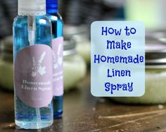 Go All Natural with Homemade Body Scrub and Homemade Linen Spray #NaturalGoodness #ad