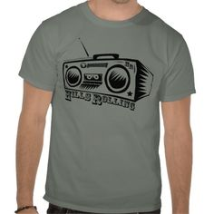 Hills Rolling T-Shirt with Old School JamBox Logo designed by Trey McGriff.  Check out the music!   itunes.com/HillsRolling  www.HillsRolling.com