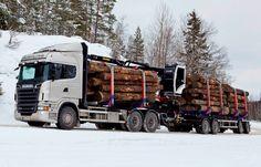 äkäne pölli auto Cool Trucks, Big Trucks, Timber Logs, Truck Festival, Big Tractors, Heavy Machinery, Vehicles, Woods, Woodland Forest