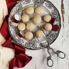 Vit chokladtryffel – enkelt recept