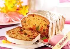 Keks ananasowy. Kliknij, aby poznać przepis. Przepisy wielkanocne, wielkanoc, ciasta na wielkanoc, babki wielkanoc, keks, keks wielkanocny.