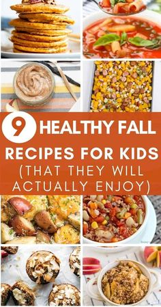 Here are some some of the best healthy fall recipes for kids that we were able to find. Kids will love these!