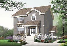 Plan de maison no. W2779-V2 de dessinsdrummond.com