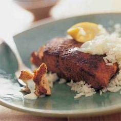 Indian-Spiced Roast Salmon