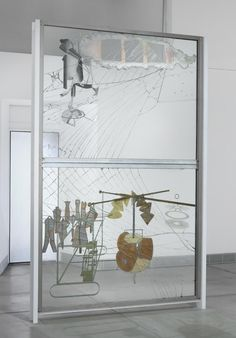 Philadelphia Museum of Art - Collections Object : The Bride Stripped Bare by Her Bachelors, Even (The Large Glass) by Marcel Duchamp