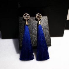 Tassel long earring for your evening party! Grab the collection to grab the attention!  #black #jewel_love #must_collection#black_love#party_night#vintage #Tassel_like#likeforlike #tassel#earrings #drop #earrings#long #evening_time #party #collections#jewelry #long #order #now  Visit us on www.toucanshack.com Toucan Shack | Fashion, One Goal, One Passion. | The Official Toucan Shack Website. Find pendant necklaces, brooches, earrings, bracelets & watches, for unforgettable moments…