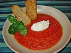 Cuoche clandestine: Crema di pomodori vellutata -Tomatoes velvety soup - Crema de tomates
