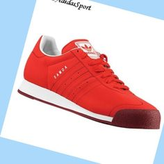 Light Scarlet Cardinal - Adidas Originals Samoa men Nubuck Trainers,Fashionable and quality sports shoes here just for you.