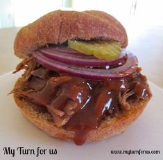 The Best Texas BBQ pulled pork made in a crockpot – My Turn for Us - 2020 My Cooking Ideas
