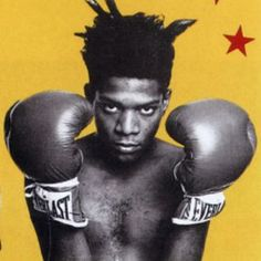 Jean-Michel Basquiat Artista Jean-Michel Basquiat foi um artista americano. Ganhou popularidade primeiro como um grafiteiro na cidade onde nasceu e então como neo-expressionista. Wikipédia Nascimento: 22 de dezembro de 1960, Brooklyn, Nova Iorque, EUA Falecimento: 12 de agosto de 1988, NoHo, Nova Iorque, EUA Educação: Edward R. Murrow High School Influências: Andy Warhol, Keith Haring, Pablo Picasso, Robert Rauschenberg, Cy Twombly, Jean Dubuffet