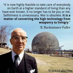 R Buckminster Fuller quote... and today, still not converting :(
